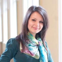 Étudiante Architecte - Journaliste, secrétaire bulgare AIM